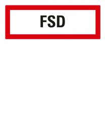 Brandschutzschild FSD-Feuerschlüsseldepot nach DIN 4066