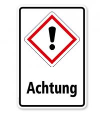 GHS - Schild Achtung