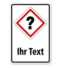 GHS - Schild individuell