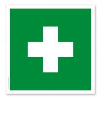 Rettungszeichen Erste Hilfe (alte Norm)