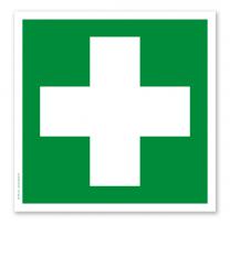 Rettungszeichen Erste Hilfe nach DIN EN ISO 7010 - E 003