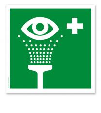 Rettungszeichen Augenspüleinrichtung (alte Norm)