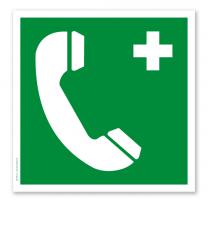 Rettungszeichen Notruftelefon (alte Norm)