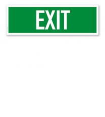 Fluchtwegschild / Rettungsschild Exit