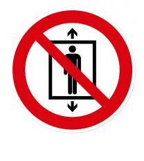 Verbotszeichen Personenbeförderung verboten nach DIN EN ISO 7010 - P 027
