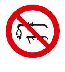 Verbotszeichen Schweißen ist verboten