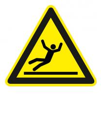 Warnzeichen Warnung vor Rutschgefahr nach DIN EN ISO 7010 - W 011