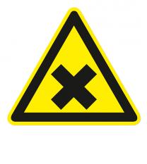 Warnzeichen Warnung vor gesundheitsschädlichen Stoffen