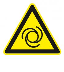 Warnzeichen Warnung vor automatischem Anlauf