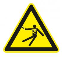 Warnzeichen Warnung vor gefährlicher elektrischer Spannung