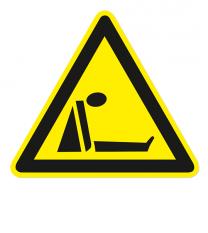 Warnzeichen Warnung vor Ersticken durch Sauerstoffmangel