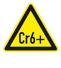 Warnzeichen Warnung Hexavalentes Chrom