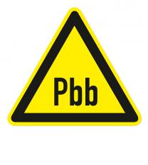 Warnzeichen Warnung Polybromierte Biphenyle