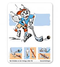 Spielplatzschild Hockey - SP