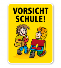 Kinderschild Vorsicht Schule - VSS