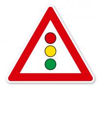 Lichtzeichenanlage - Verkehrsschild VZ 131