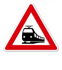 Bahnübergang - Verkehrsschild VZ 151