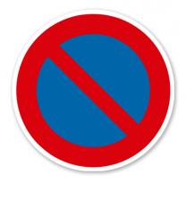 Eingeschränktes Halteverbot - Verkehrsschild VZ 286