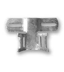 Bandschelle / Bandbügel 120 mm (70 mm Lochung)